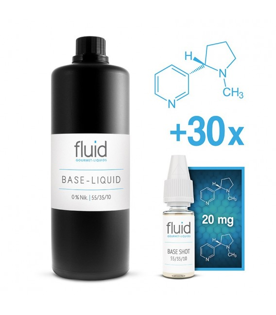 fluid Base MixPack 1L, 6 mg/ml, VPG 55-35-10