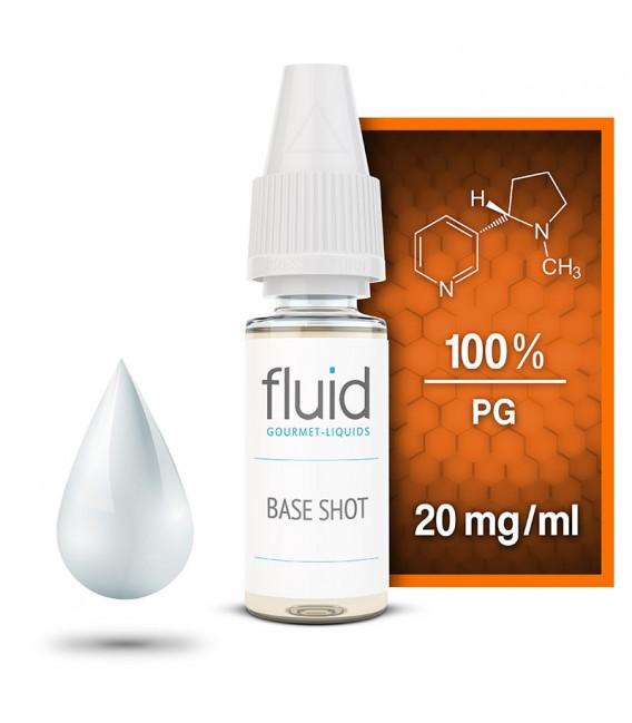 Base Shot, 10 x 10 ml, 20 mg/ml, Propylenglycol (1,2), PG 99,5 %
