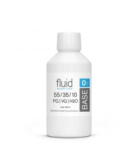 fluid Base 250ml, 0 mg/ml, VPG 55-35-10