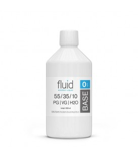 fluid Base 500ml, 0 mg/ml, VPG 55-35-10