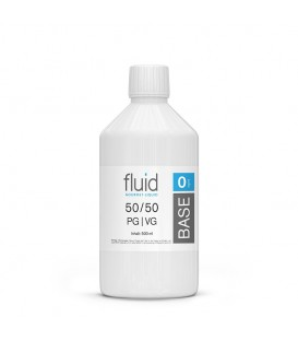 fluid Base 500 ml, 0 mg/ml, VPG 50-50