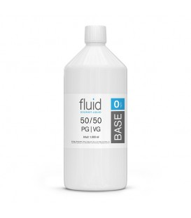 fluid Base 1000 ml, 0 mg/ml, VPG 50-50