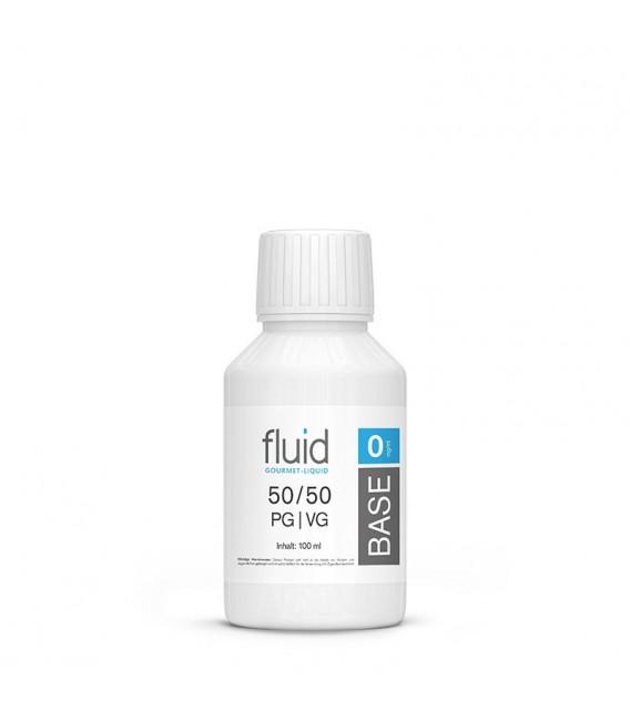 fluid Base 100 ml, 0 mg/ml, VPG 50-50