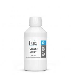 fluid Base 250 ml, 0 mg/ml, VPG 70-30