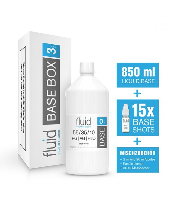 fluid Base MixPack 1L, 3 mg/ml, VPG 55-35-10