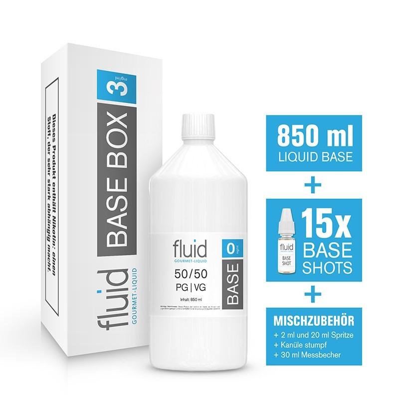 fluid Base MixPack 1L, 3 mg/ml, VPG 50-50