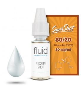 Base Shot, 10 x 10 ml, 20 mg/ml, PG 50 % / VG 50 %