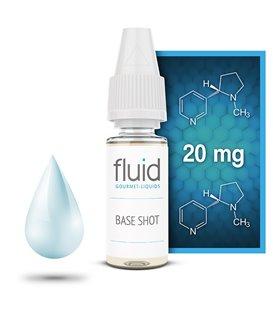 Base Shot, 10 x 10 ml, 20 mg/ml, PG 55 % / VG 35 % / Wasser 10 %